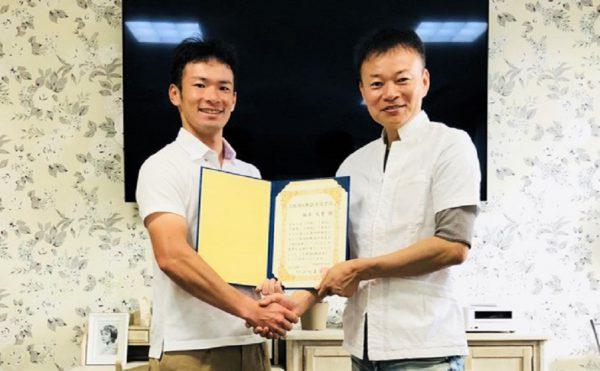 AKS治療プロセスセミナーを受講して目標達成した楠本先生(和歌山県、柔道整復師)